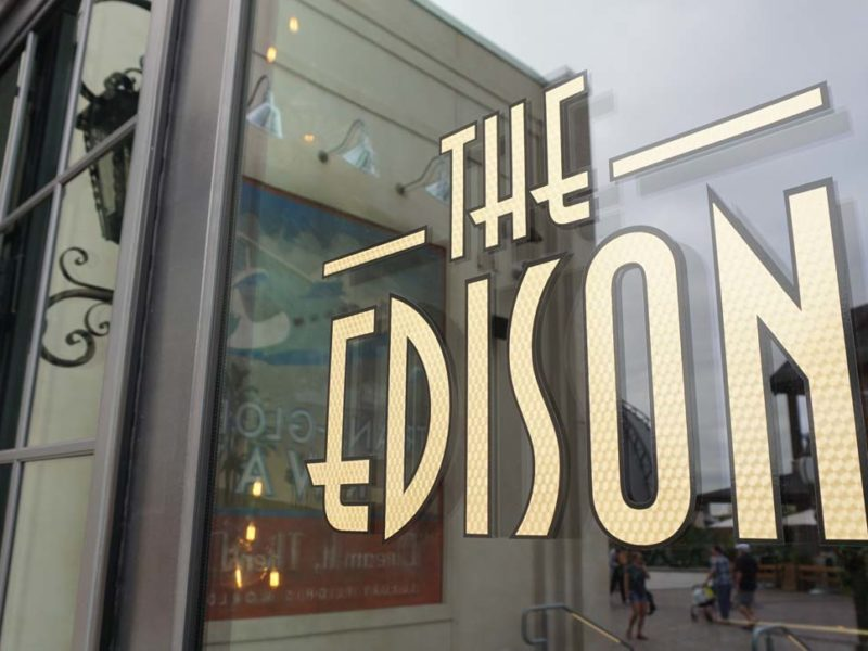 The Edison em Disney Springs