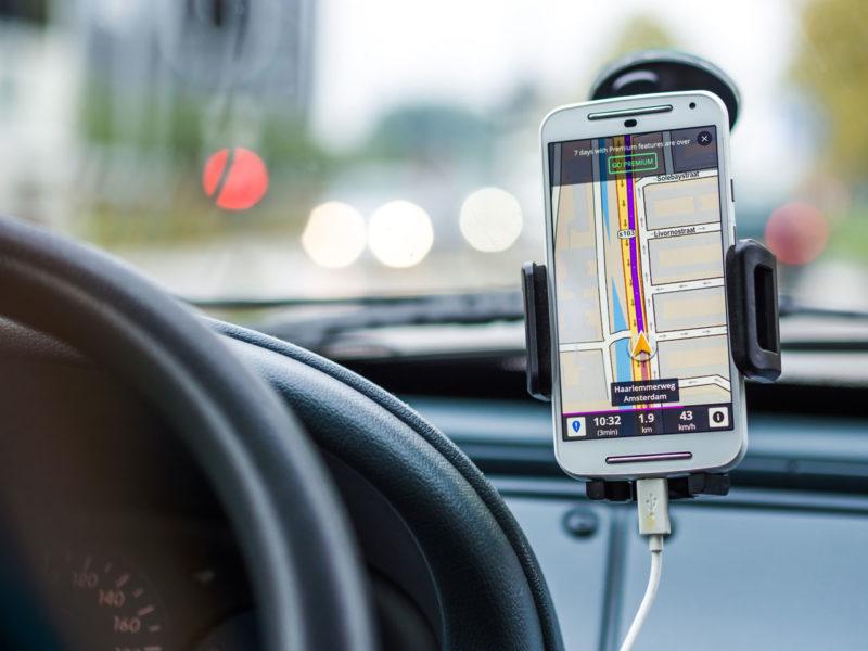 Google Maps em viagens