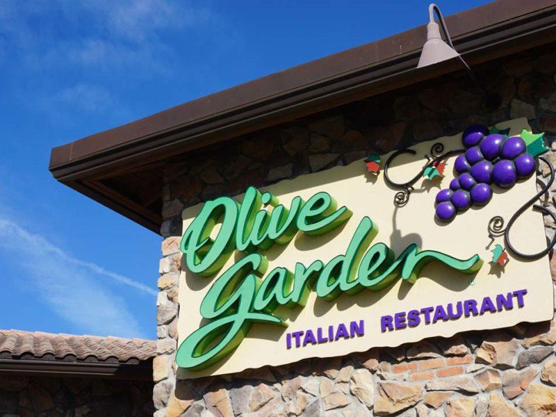 Olive Garden em Orlando