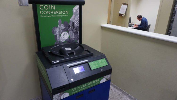 Trocar moedas no Publix em Orlando