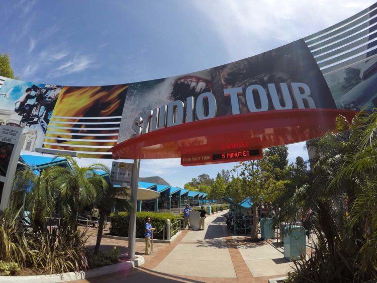 Tour nos estúdios da Universal Studios Hollywood