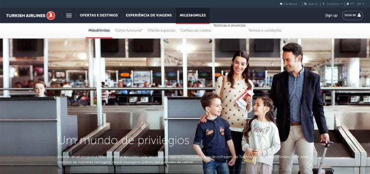 Programa de fidelidade da Turkish Airlines