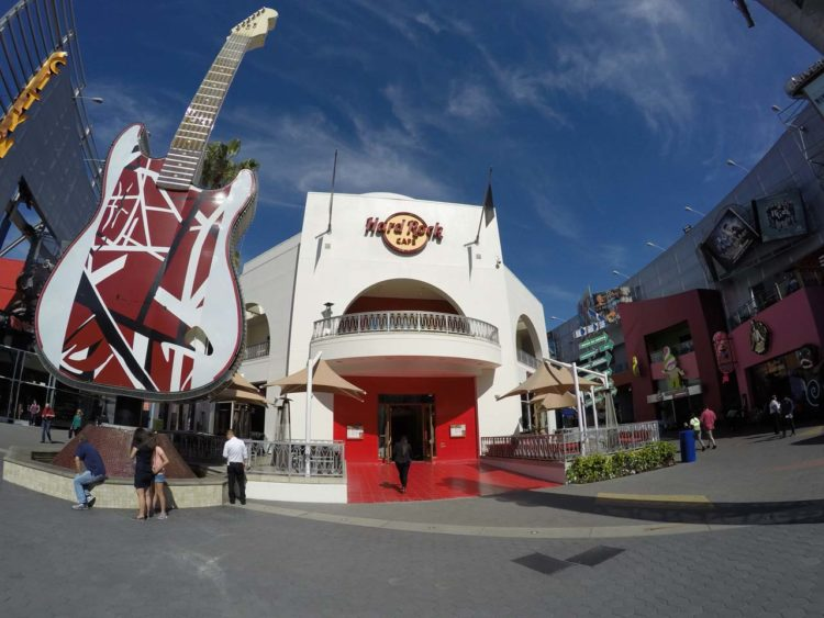 Como é o CityWalk da Universal Studios Hollywood