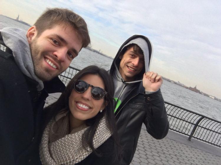 O que eu amo repetir em Nova York: Battery Park