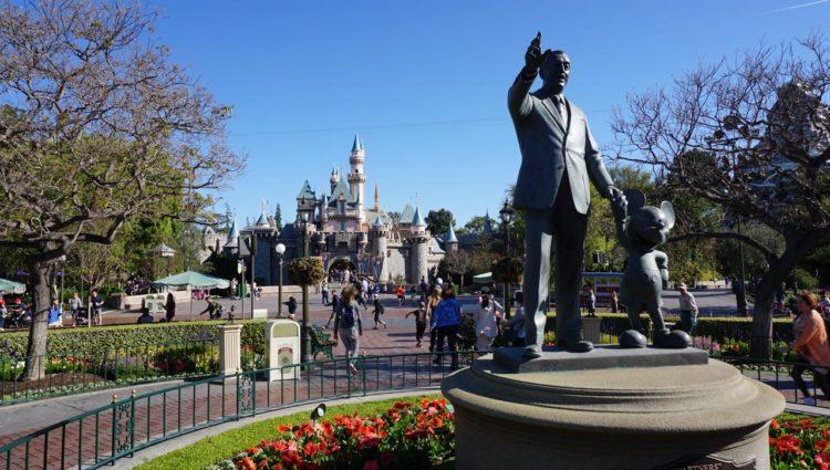 Estátua Partners - Disneyland Park