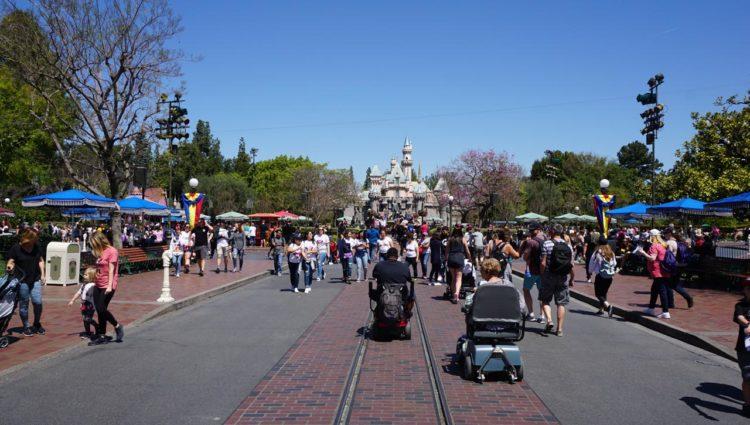 Main Street U.S.A. Disneyland Park