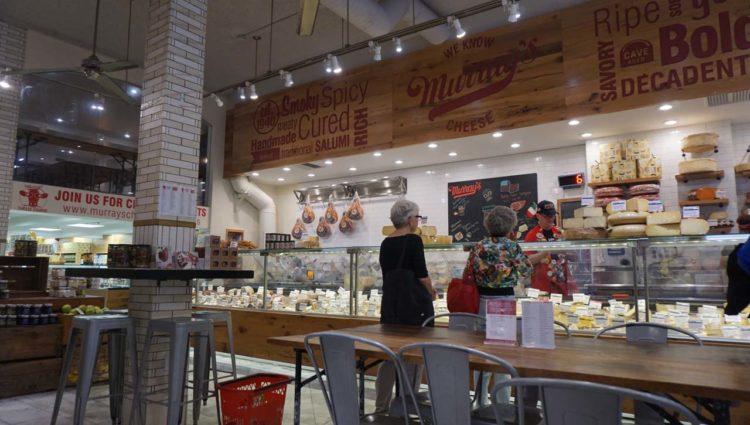 Loja de queijos em Nova York