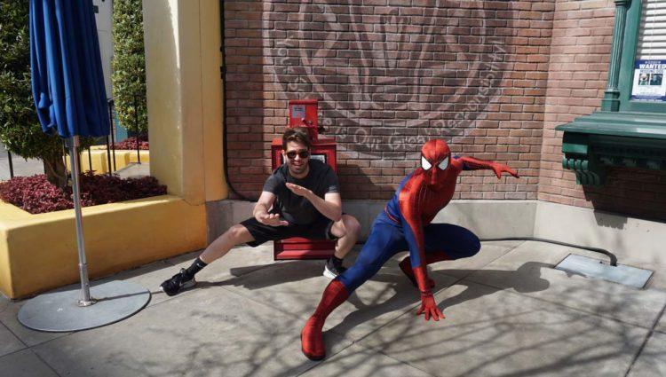 Spider-Man em Hollywood Land