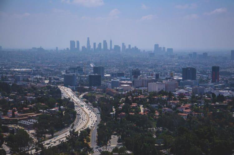 Dirigir em Los Angeles
