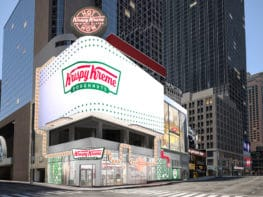 Krispy Kreme em Nova York: doughnuts em Times Square!