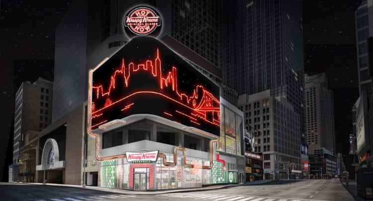 Krispy Kreme em Times Square