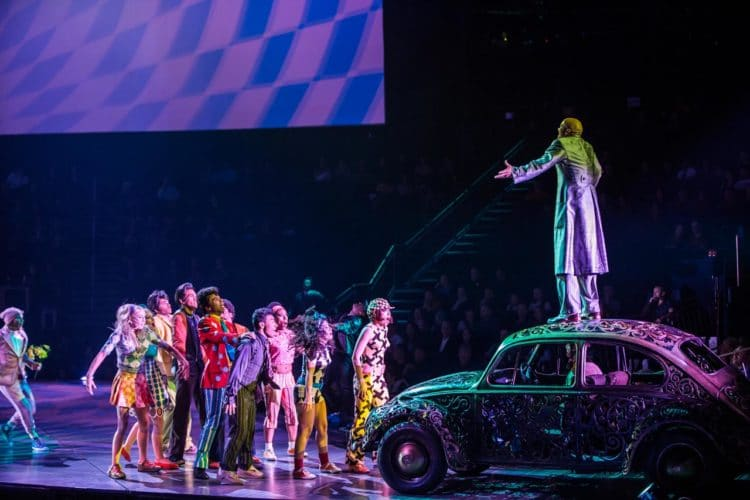 Cirque du Soleil dos Beatles
