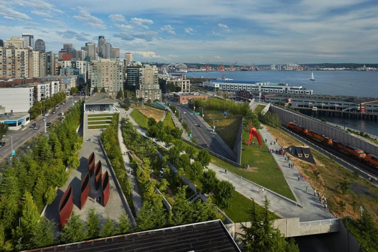 Olympic Sculpture Park em Belltown